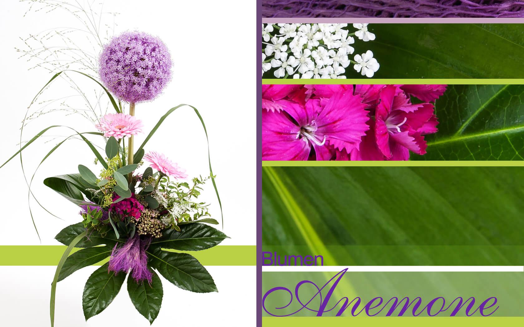 Wunderschone Blumengestecke Munchen Blumen Anemone Munchen