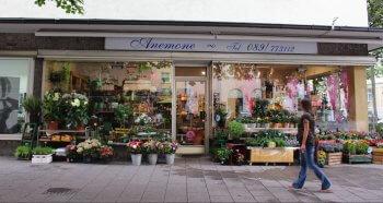 Blumengeschäft Blumen Anemone München