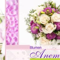 Blumenstrauß rosa und weiß mit Rosen in München