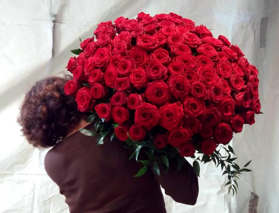 Riesen Rosenstrauss - Blumen Anemone München